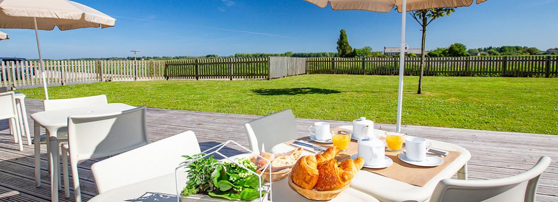 Résidence Le Domaine du Mont - Roz-sur-Couesnon - Vacancéole - Petit déjeuner